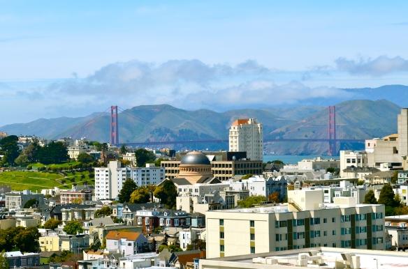 Golden Gate Bridge 16 April 2012